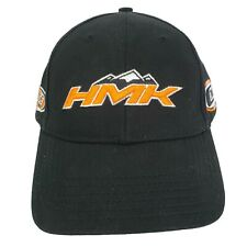 HMK Outdoor Racer Edition Team Woody's Snowmobile Baseball Hat Cap Black Orange