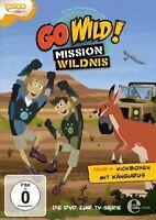 GO WILD!-MISSION WILDNIS - (6)DVD Z.TV-SERIE-KICKBOXEN MIT KÄNGURUS  DVD NEU