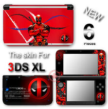 Deadpool Amazing Skin Decal Vinyl Sticker Cover for Original Nintendo 3DS XL
