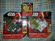 3 Star Wars Box busters Asteroid Chase Endor Attack, Naboo & Hoth,& Rebel Attack