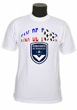 Tee-shirt adulte supporter foot bordeaux réf 21