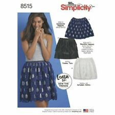 SIMPLICITY Sewing Patterns~8515 Misses Women Ladies Skirts 6-8-10-12-14-16-18