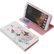Funda para Oukitel K6000 Plus Book Style Protección Teléfono Móvil Mariposa