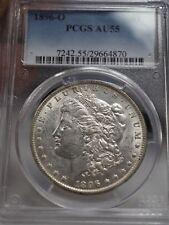 1896-O MORGAN DOLLAR - PCGS AU-55  # 4870