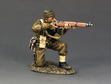 King and Country WW2 Britannico Commando inginocchiata Tiro Fucile D giorno DD194