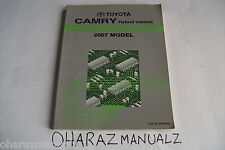 2007 TOYOTA Camry Hybrid Electrical Wiring Diagram Manual OEM