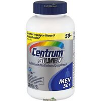 Centrum Silver MultiVitamin MultiMineral Complete Vitamin 250 Tabs Men Over 50+