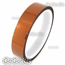 20mm 2cm x 30M Kapton Tape High Temperature Heat Resistant Polyimide (F019-20)