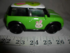 """Green Mini Cooper Bunny Galerie Car Light Weight Vehicle 6"""""""