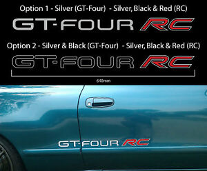 Toyota Celica GT Four RC Decals