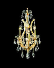 Palace  4 Light Maria Theresa Crystal Chandelier light -Gold