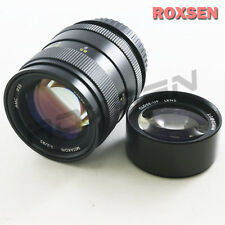 Mitakon 85mm F/2.0 MF Camera Lens for Canon EOS EF mount 700D + macro close up