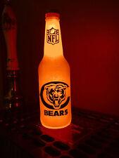 Nfl Chicago Bears Football 12 oz Beer Bottle Light Led lamp sign tickets