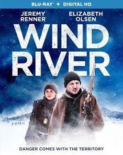 WIND RIVER Blu-ray/Digital (CASE,CODE, & ALL DISC)