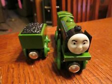 Gullane Thomas Wooden Railway BIG CENTER ENGINE & TENDER Train Thomas & Friends