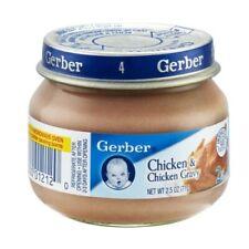 24 jars NIB BABY Food Gerber 2nd Foods Meats, Chicken&Gravy, 2.5-OZ Pack of 24 ❤