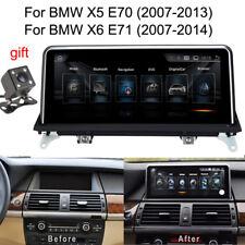 "10.25"" Android 8.1 Car GPS Radio stereo Navi nav for BMW X5 X6 E70 E71 2007-2014"