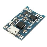Charger Board 1A 18650 Lithium Battery 5V Micro USB Charging Module+Protection