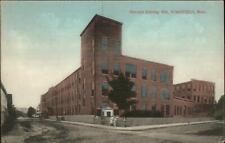 Wakefield MA Harvard Knitting Mill c1910 Postcard