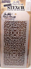 Ornate Design Layering Stencil Stampers Anonymous Tim Holtz Collection THS076