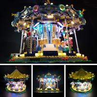 New Led light kit for LEGO Creator Carousel 10257 Street Series lighting blocks