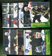 2000-01 Topps Hockey Combos Complete Set of 10 Cards MARIO LEMIEUX/PATRICK ROY