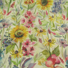 By the Metre Linen Floral Craft Fabrics