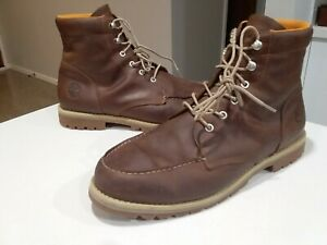 Timberland Redwood Falls Moc Toe Boots, Mens Size 11US (read description)