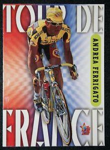 Tour de France  Cycling  Ferrigato  Roslotto - ZG Mobili   Colour Card VGC