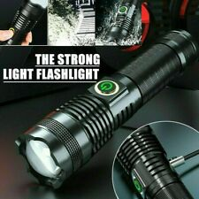LED Taschenlampe Extrem Hell 90000LM XHP70 Zoom USB Flashlight Wasserdicht DHL