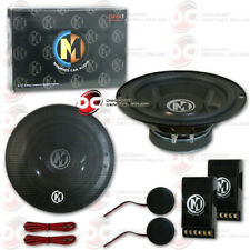 NEW MEMPHIS SRX 6.5 INCH 2-WAY CAR AUDIO COMPONENT SPEAKERS (PAIR) 6.5