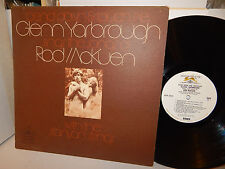 GLENN YARBROUGH sings the songs of Rod McKuen Bend Down and Touch Me 1960s EX LP