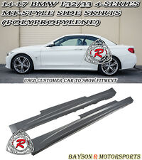 MT-Style Side Skirts (PP) Fits 14-18 BMW F32/F33 2dr 4-Series