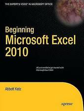 Beginning Microsoft Excel 2010 (Expert's Voice)-ExLibrary