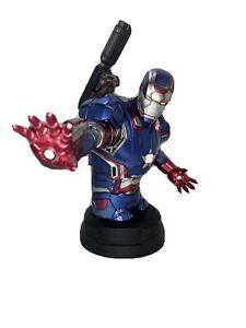 Gentle Giant Iron Man 3 Iron Patriot Mini Bust Amazon Exclusive 113/1700 Marvel