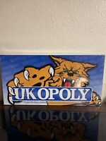 UK Opoly University of Kentucky Wildcats Board Game NEW Alumni Students Party