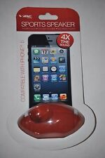 Vibe Sound Sports Football Speaker Compatible with IPhone 5, 4X the Sound
