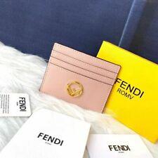 Genuine Fendi Men's and Women's Business Card Holder