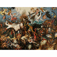 Pieter Bruegel The Elder The Fall Of The Rebel Angels Large Canvas Art Print