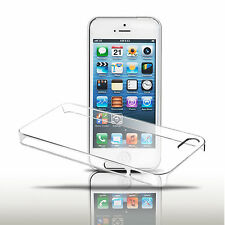 New Ultra Thin Glossy Clear Transparent Hard Plastic Case Cover For iPhone 5 5s