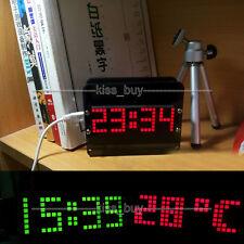 51 microcomputer DIY electronic DS3231 LED digital clock temperature Alarm Uhr