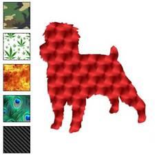 Affenpinscher Dog Decal Sticker Choose Pattern + Size #1904