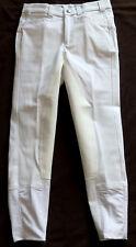 Kinder Reithose, 3/4 Vollbesatz,weiß, Gr. 146,Strass, UVP:89,90 €,baroux (44)
