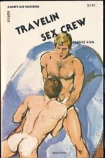 TRAVELIN' SEX CREW 1987 Adam's Gay Readers Pulp Fiction Paperback Novel NM