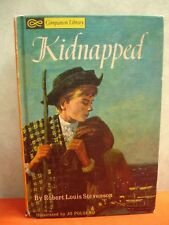 Tom Sawyer Detective & Kidnapped- Companion Library 2 Sided Book (1965 HB )HB010