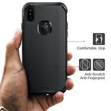 iPhone X Shockproof Slim Case Non-Slip Anti-Scratch Matte Black (Yesg