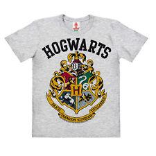 Harry Potter: Blason - Poudlard Logo - Film T-shirt Bio Enfant, gris - LOGOSHIRT