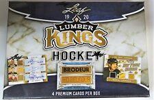 2019-20 LEAF LUMBER KINGS HOCKEY HOBBY BOX