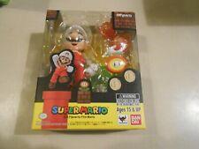 Super Mario Bros. S.H.Figuarts Fire Mario Set NEW/SEALED Nintendo Bandai CIB