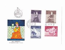 SAINT-MARIN SAN MARINO 1969 3 Enveloppes 1er Jour Europa Bramante Lorenzetti
